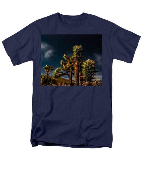 Night Desert Men's T-Shirt  (Regular Fit) by Angela J Wright