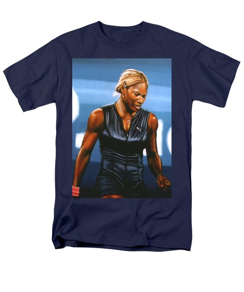 Serena Williams Men's T-Shirt  (Regular Fit) by Paul Meijering