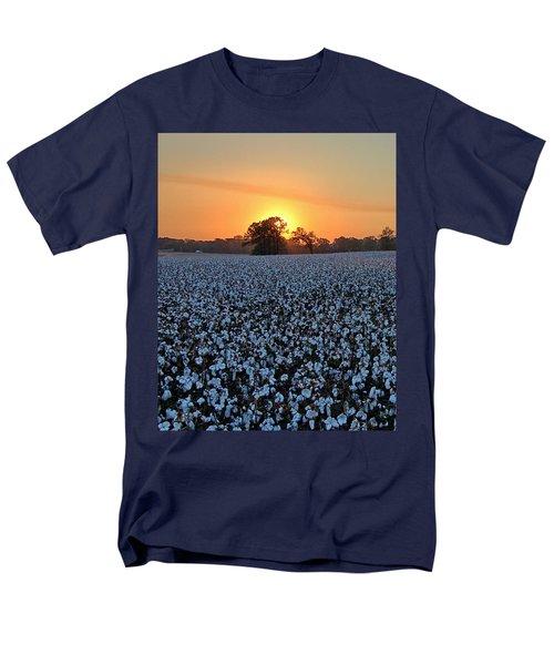 Sunset Over Cotton Men's T-Shirt  (Regular Fit)