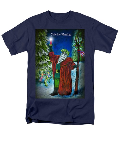 The Holly King Men's T-Shirt  (Regular Fit) by Diana Haronis