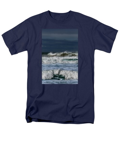 Men's T-Shirt  (Regular Fit) featuring the photograph Wave After Wave by Edgar Laureano