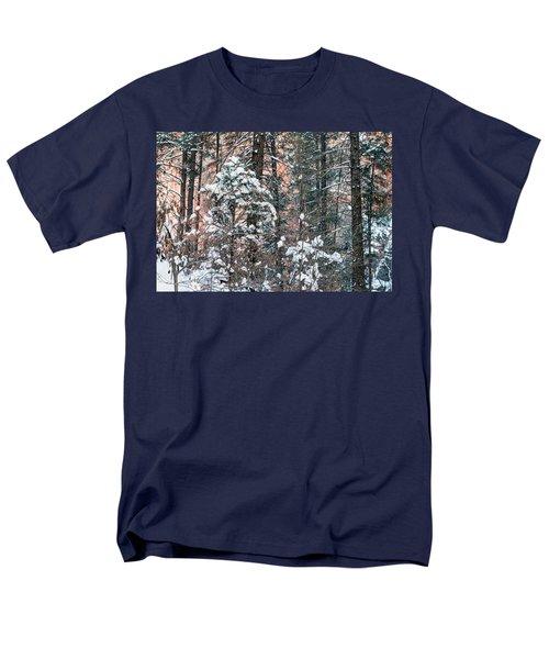 West Fork Snow Men's T-Shirt  (Regular Fit) by Tam Ryan