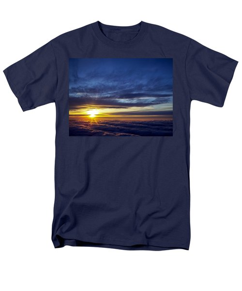 Men's T-Shirt  (Regular Fit) featuring the photograph Winter Dawn Over New England by Greg Reed