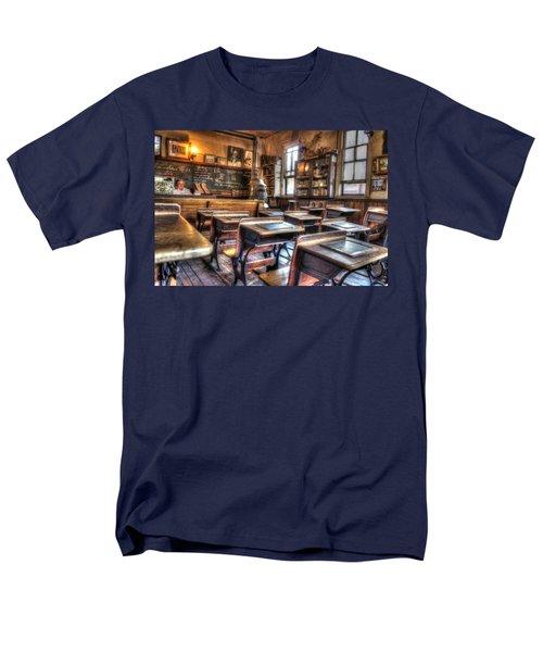 1879 School House - Knott's Berry Farm Men's T-Shirt  (Regular Fit) by Heidi Smith
