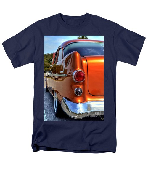 Men's T-Shirt  (Regular Fit) featuring the photograph 1955 Pontiac by Kathy Baccari