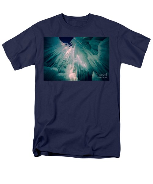 Ice Castle Men's T-Shirt  (Regular Fit) by Edward Fielding
