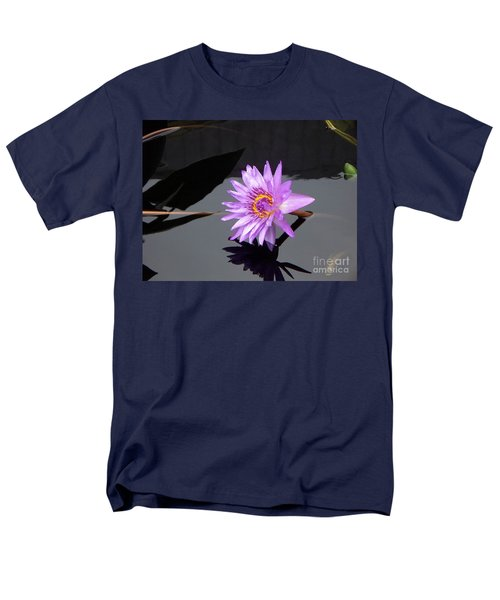 Lavender Lily Men's T-Shirt  (Regular Fit) by Eric  Schiabor