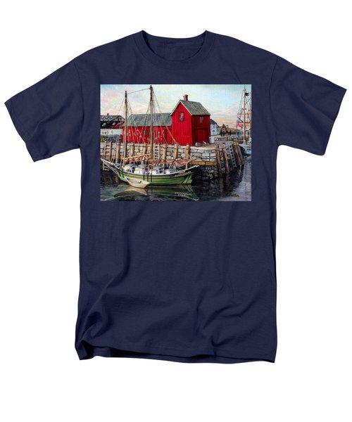 Motif  Number One Men's T-Shirt  (Regular Fit) by Eileen Patten Oliver