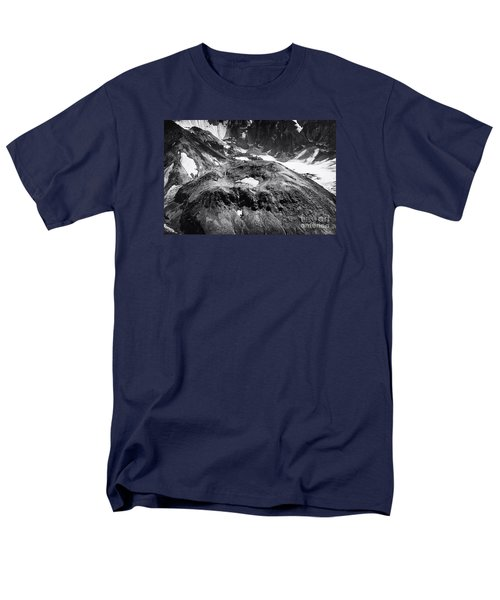 Mt St. Helen's Crater Men's T-Shirt  (Regular Fit) by David Millenheft