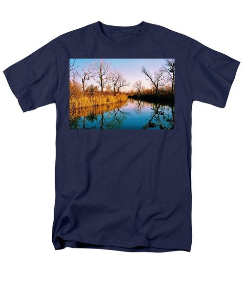 Men's T-Shirt  (Regular Fit) featuring the photograph November by Daniel Thompson