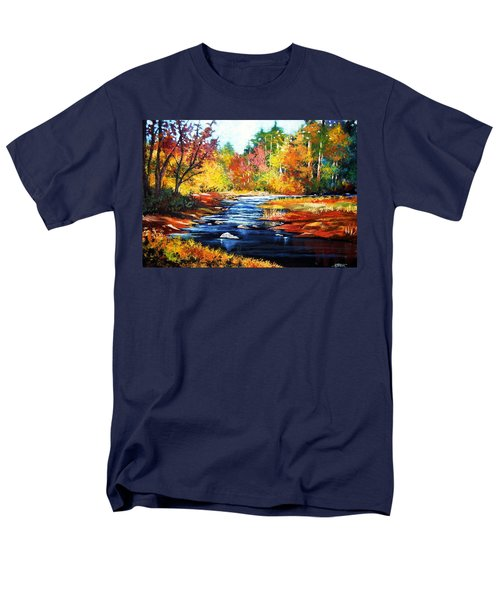 Men's T-Shirt  (Regular Fit) featuring the painting October Bliss by Al Brown