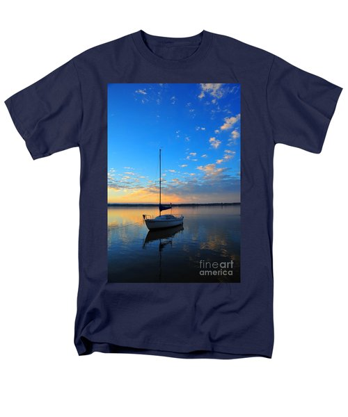 Men's T-Shirt  (Regular Fit) featuring the photograph Sailing 2 by Terri Gostola