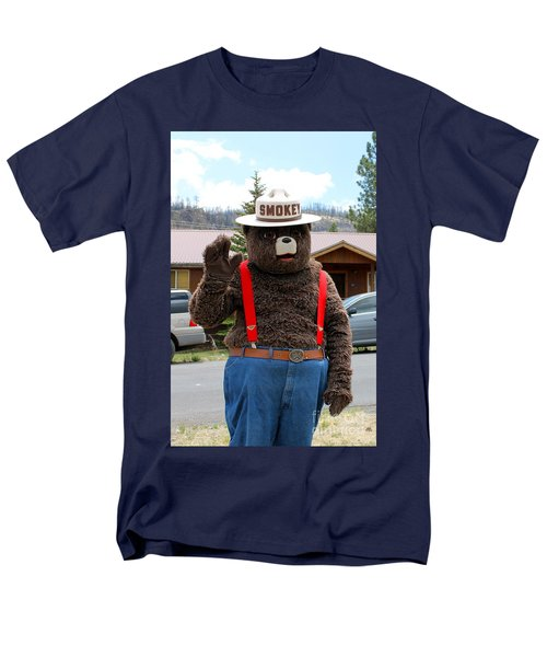 Smokey The Bear Men's T-Shirt  (Regular Fit)