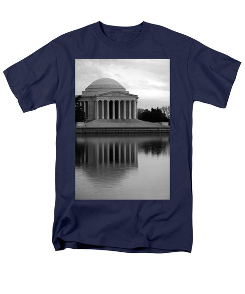 Men's T-Shirt  (Regular Fit) featuring the photograph The Jefferson Memorial by Cora Wandel
