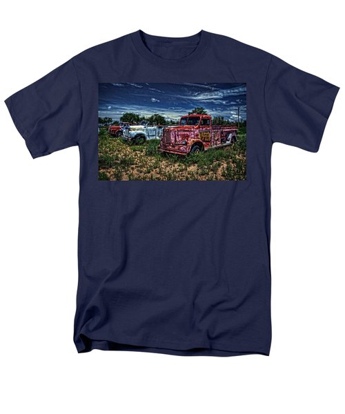 Men's T-Shirt  (Regular Fit) featuring the photograph 3 In A Row by Ken Smith