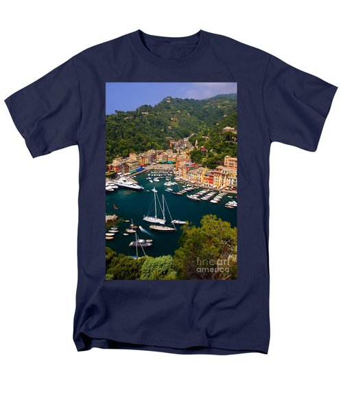 Portofino Men's T-Shirt  (Regular Fit) by Brian Jannsen
