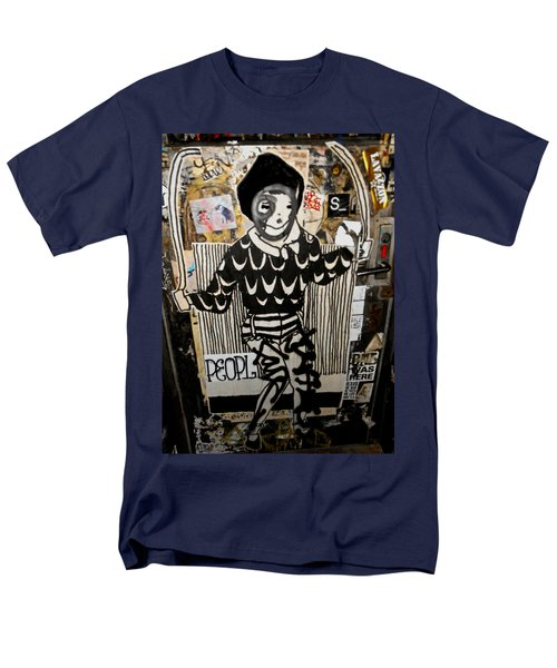 Men's T-Shirt  (Regular Fit) featuring the photograph 4th St. Door by Joan Reese