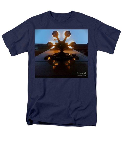 Men's T-Shirt  (Regular Fit) featuring the photograph 5 Points Of Light by James Aiken