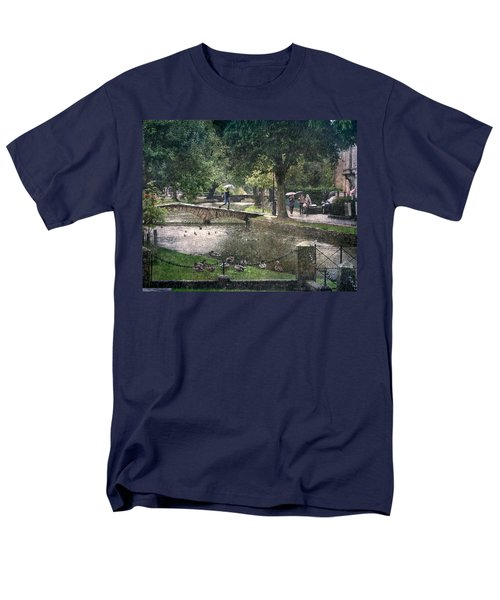 A Bit Of Rain Men's T-Shirt  (Regular Fit) by William Beuther