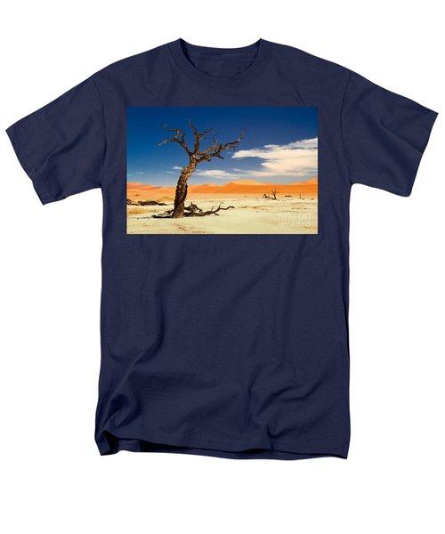 Men's T-Shirt  (Regular Fit) featuring the photograph A Desert Story by Juergen Klust