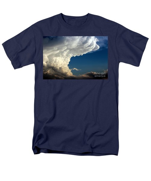 Men's T-Shirt  (Regular Fit) featuring the photograph A Face In The Clouds by Barbara Chichester