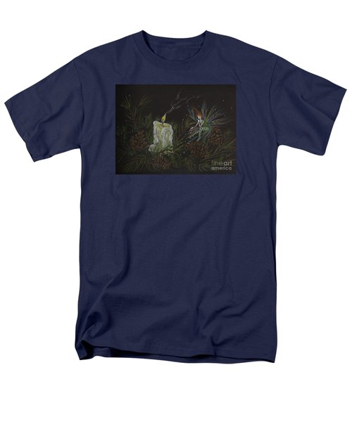 Men's T-Shirt  (Regular Fit) featuring the drawing A Good Long Think by Dawn Fairies