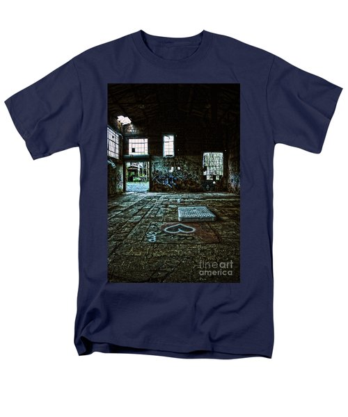 Men's T-Shirt  (Regular Fit) featuring the photograph A Place With Heart by Debra Fedchin