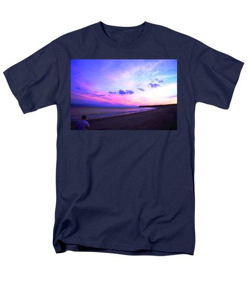A Walk On The Beach Men's T-Shirt  (Regular Fit) by Jason Lees