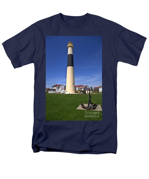 Absecon Lighthouse Men's T-Shirt  (Regular Fit) by Anthony Sacco