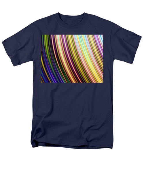 Men's T-Shirt  (Regular Fit) featuring the digital art Abstract Colours by Ester  Rogers