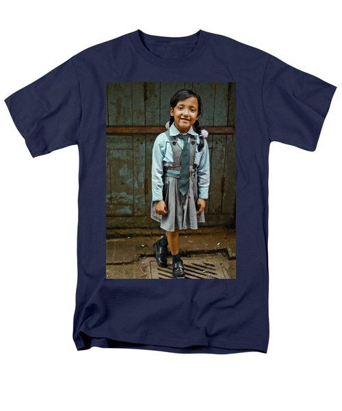 After School Pose Men's T-Shirt  (Regular Fit) by Valerie Rosen