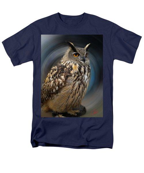 Almeria Wise Owl Living In Spain  Men's T-Shirt  (Regular Fit) by Colette V Hera  Guggenheim