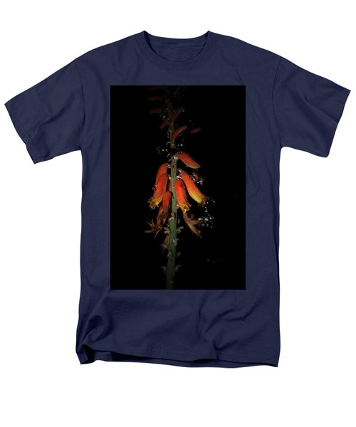 Men's T-Shirt  (Regular Fit) featuring the photograph Aloe Flower by Leticia Latocki