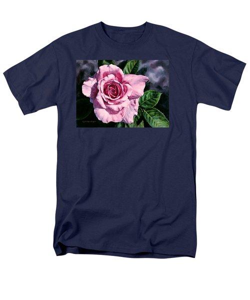 Amoure Men's T-Shirt  (Regular Fit) by Lynda Hoffman-Snodgrass