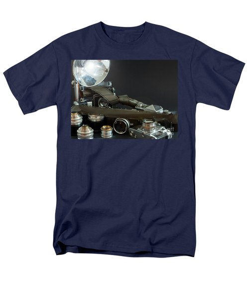 Antique Cameras Men's T-Shirt  (Regular Fit) by Gunter Nezhoda