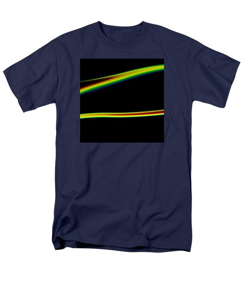 Men's T-Shirt  (Regular Fit) featuring the painting Arc C2014 by Paul Ashby