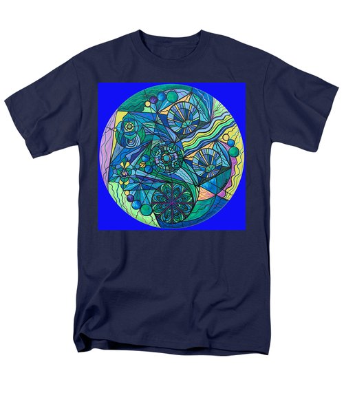 Arcturian Immunity Grid Men's T-Shirt  (Regular Fit)