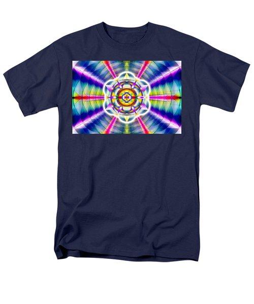 Men's T-Shirt  (Regular Fit) featuring the drawing Ascending Eye Of Spirit by Derek Gedney