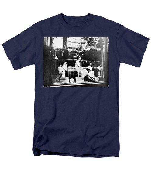 Men's T-Shirt  (Regular Fit) featuring the photograph Atget Hairdresser, C1920 by Granger