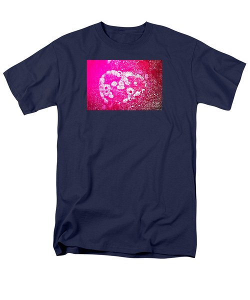 Barnacle Heart Men's T-Shirt  (Regular Fit) by Cynthia Lagoudakis
