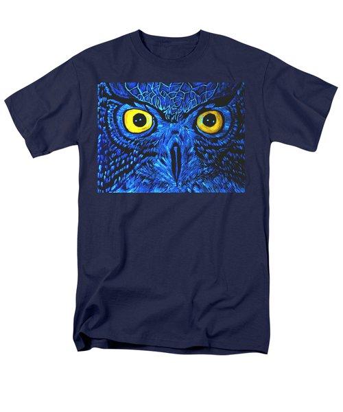 Barney Black Light View Men's T-Shirt  (Regular Fit) by Lisa Brandel