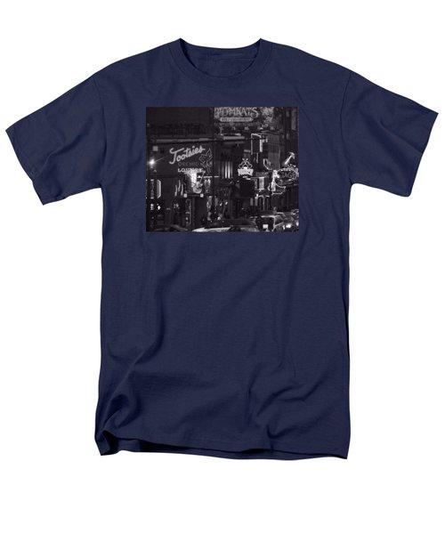 Bars On Broadway Nashville Men's T-Shirt  (Regular Fit) by Dan Sproul