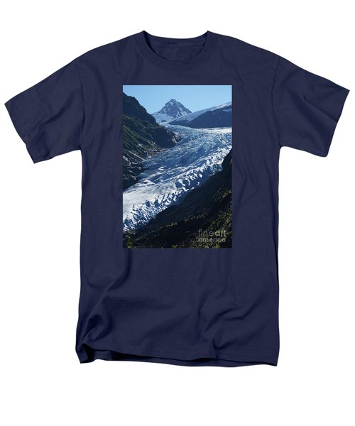 Men's T-Shirt  (Regular Fit) featuring the photograph Bear Glacier by Stanza Widen