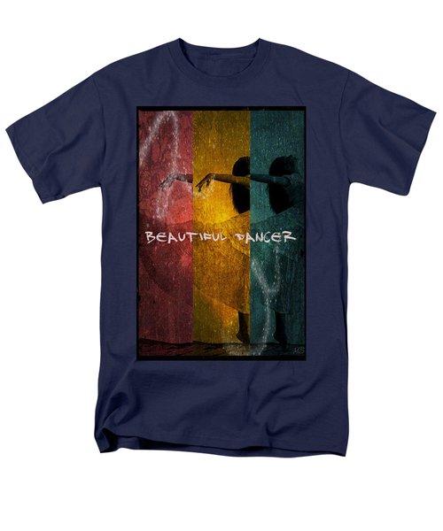 Men's T-Shirt  (Regular Fit) featuring the digital art Beautiful Dancer by Absinthe Art By Michelle LeAnn Scott