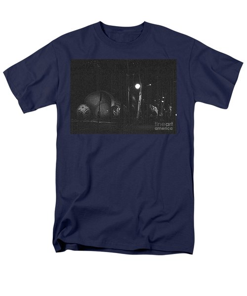 Men's T-Shirt  (Regular Fit) featuring the photograph Before The Big Parade by Steven Macanka