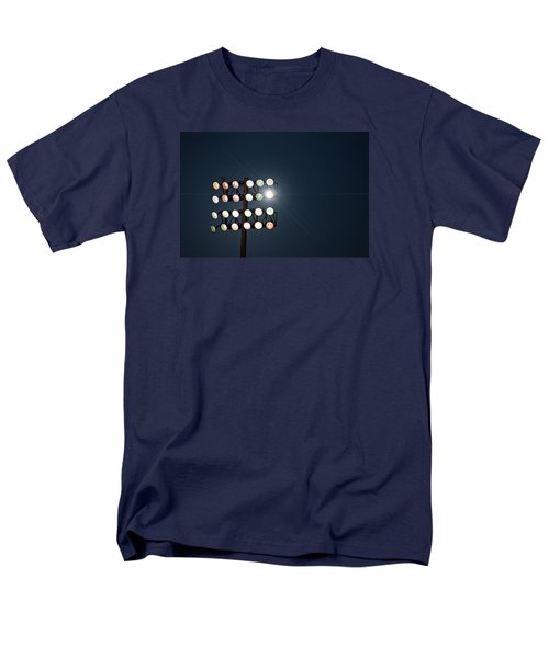 Beneath Friday Night Lights Men's T-Shirt  (Regular Fit) by Trish Mistric