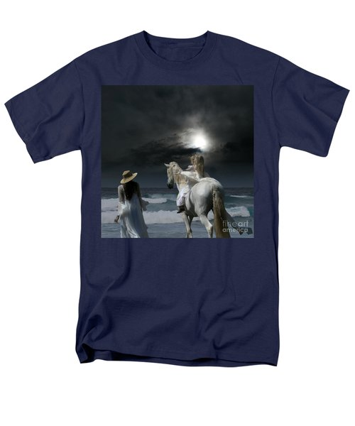 Men's T-Shirt  (Regular Fit) featuring the photograph Beneath The Illusion In Colour by Sharon Mau