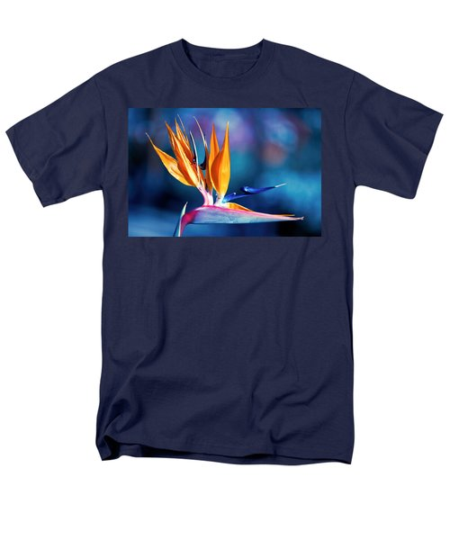 Bird Of Paradise Men's T-Shirt  (Regular Fit) by Gunter Nezhoda