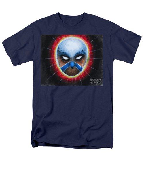 Bird Totem Mask Men's T-Shirt  (Regular Fit) by Samantha Geernaert