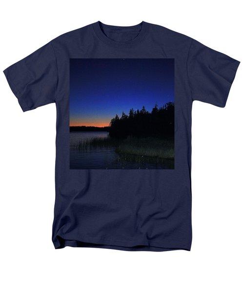 Black And Blue Sky Men's T-Shirt  (Regular Fit) by Jason Lees